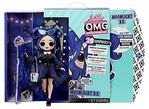 LOL Surprise OMG Muñeca de Moda Moonlight B.B - con 20 sorpresas, Ropa y Accesorios de Moda - Serie 4.5 - Coleccionable - Edad: 4+ años