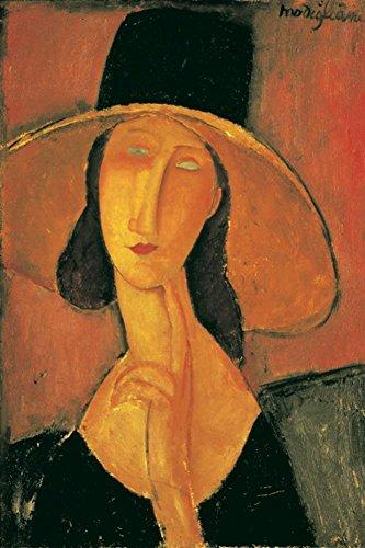 Jeanne Hebuterne Poster by Amedeo Modigliani 24 x 35in