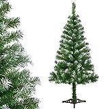 Juskys Weihnachtsbaum 150 cm künstlich mit Schnee...