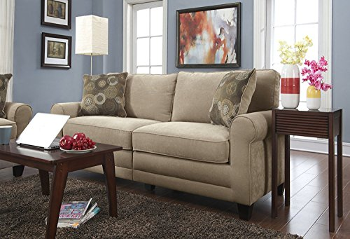 Fancy Linen 3pc sofa cover jersey strech Brown New