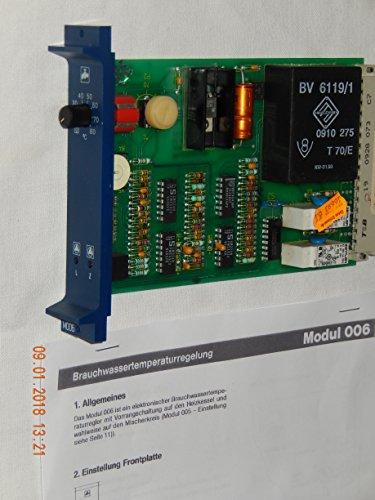 BUDERUS Modul M006 Brauchwasserregelung passt Buderus Heizungregelgeräte Serie HS 3000, als Ersatzteil ohne OVP aufbewahren
