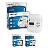 2x Nemaxx CO detector carbon monoxide gas detector gas alarm in accordance with DIN EN 50291