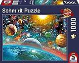 Schmidt Spiele 58176 Puzzle Weltall, 1000 Teile, bunt -
