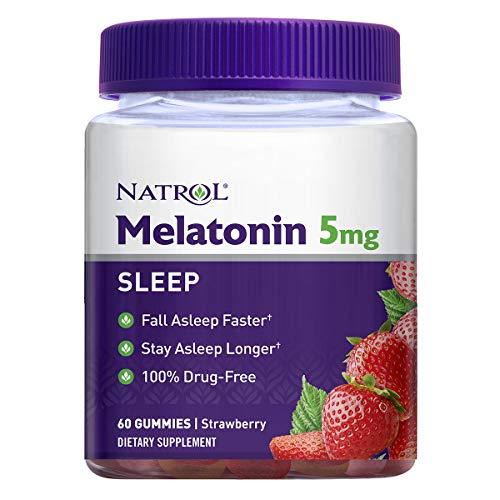 Natrol Melatonin 5mg Gummy 60 Count