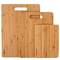 Image of eco friendly bamboo cutting boards