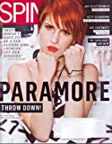 SPIN Magazine (July 2010) PARAMORE Throw Down!, Jay Electonica, Ozzy Osbourne, Vic Chesnutt, The Gaslight Anthem