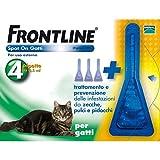 FRONTLINE SPOTON GATTI 4 pipette - Contro Pulci, Zecche e...