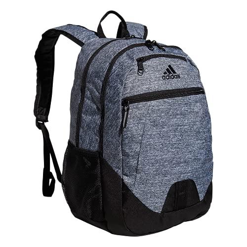 adidas Foundation Backpack Mochila, Jersey Onix Gris/Negro, Talla única Unisex