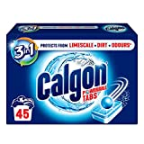 Calgon Tablets 3-In-1 Water Softener, 45 Tablets