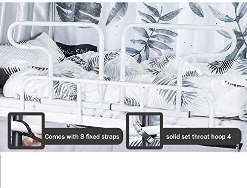 Kids Bed Rails Opvouwbare Bed Rail Veiligheid Side Guard Voor Ouderen, Hoge Temperatuur Poeder Smeedijzer Oudere Draagbare Veiligheid Spoor Voor Stapelbedden IJzeren Kind White-50 * 45 * 30 * 35cm