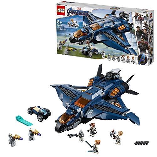 LEGO® Marvel Super Heroes™ Le Quinjet des Avengers Jeu de...