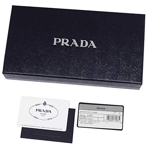 [プラダ]キーケースサフィアーノメンズPRADA2PG222QME(1)NERO(F0002)ブラック[並行輸入品]