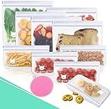 Bolsas Reutilizables para Almacenamiento de Alimentos, Bolsas de sándwich...