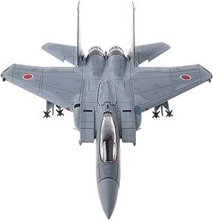 MagiDeal 1:100 Escala Maqueta de Avión de Ejército de Simulación Modelo F-15J de Combate de Autodefensa Aérea Juego de Colecciones