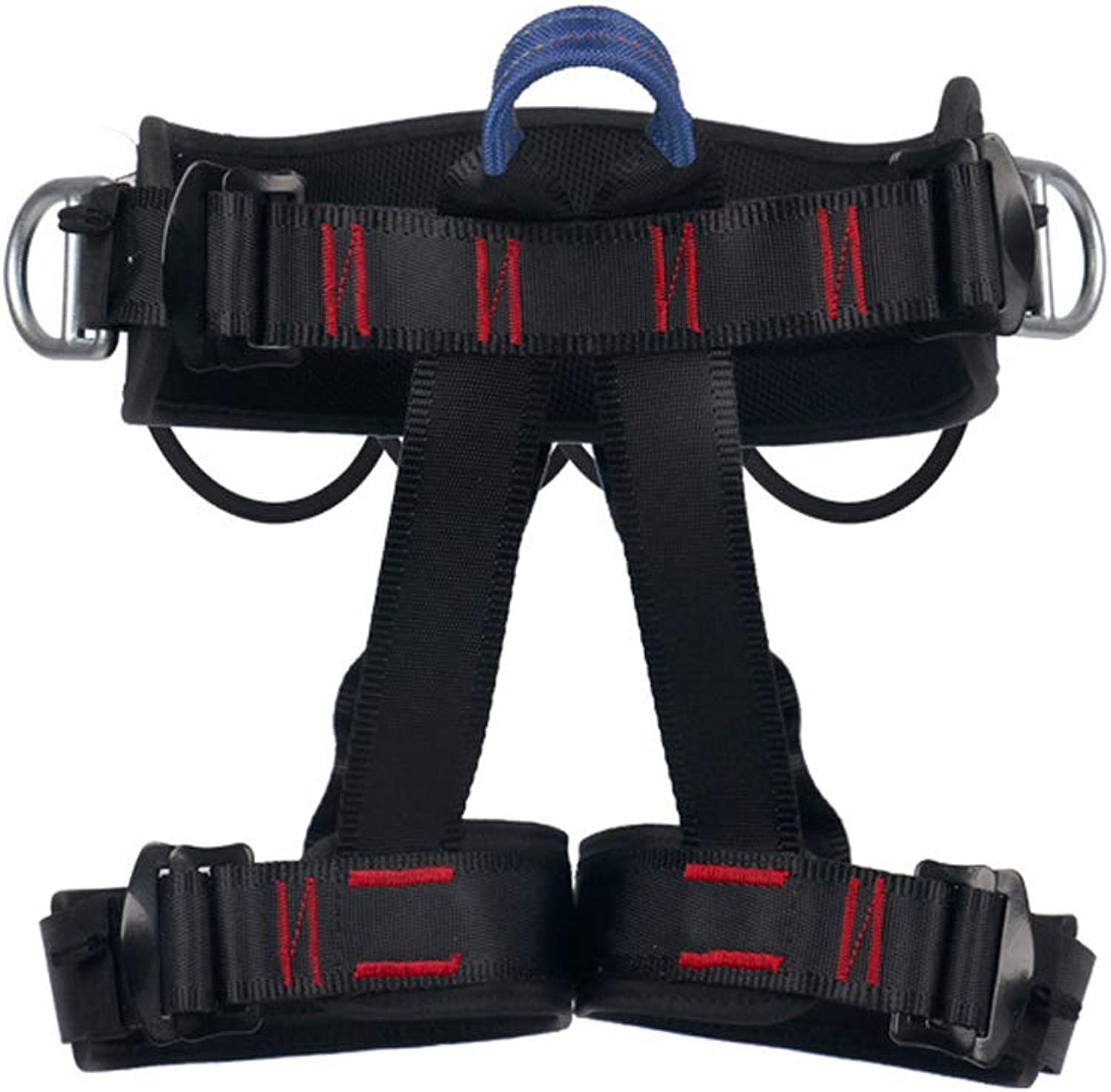 Climbing Harness, Professional Predect Waist Safety Harness Rock Climbing Harness Wider Half Body Harness for Mountaineering Rappelling