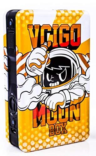 Sigelei VCIGO Moon Box 200W Mod Farbe Schwarz-Orange - Cartoon