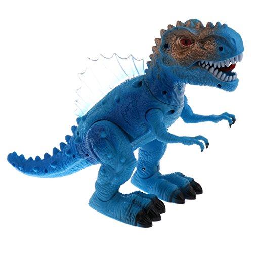 Baoblaze Kinder Elektrischer Bewegliches Dinosaurier Spielzeug mit Lichter und Ton - 25 x 12 x 12 cm - Tyrannosaurus Dinosaurier