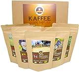 5 erlesene Kaffees aus biologischem Anbau. Verwöhnen Sie Gaumen und Seele mit feinsten Spezialitäten, die in höchster Sorgfalt angebaut, ausgewählt und veredelt wurden. Erleben Sie eine kulinarische Kaffee-Reise durch Kolumbien, Indonesien, Honduras,...