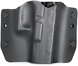 Matte Black - Kydex OWB Holsters for More Than 200 Different Handguns. Left & Right Versions Plus Speed Clips and Paddle Back Available.