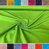 babrause® Jersey uni grün - Baumwolljersey - Ökotex - Ab