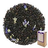Núm. 1199: Té negro 'Earl Gray Blue Star' - hojas sueltas - 250 g - GAIWAN® GERMANY - estrella azul, té negro de la India y Vietnam, malva, naranja
