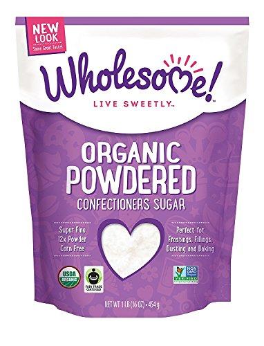 Wholesome Sweeteners Organic Powdered Sugar, 16 oz