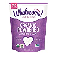 Wholesome Sweeteners Organic Powdered Sugar, 16 oz