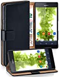 MoEx Book-style flip case compatible with Sony Xperia E1 |