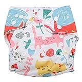 Swim Diaper Baby Infant Snap Absorbente Lavable Swimsuit Pañal Reutilizable...