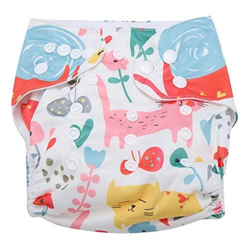 Swim Diaper Baby Infant Snap Absorbente Lavable Swimsuit Pañal...