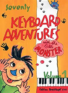 70 Keyboard Adventures with the Little Monster, Vol.1 - piano - (EB 8785)