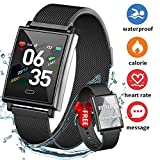 Fitness Tracker Smartwatch, Dwfit Activity Tracker with Heart Rate Monitor, Fitness Tracker Watch
