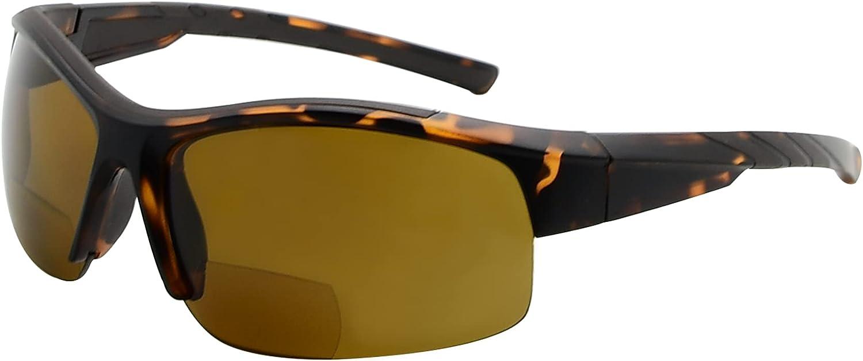 Eyekepper Manufacturer OFFicial shop TR90 Sports Polycarbonate Polarized Half Fixed price for sale Rimle Bifocal