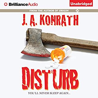 Disturb audiobook cover art
