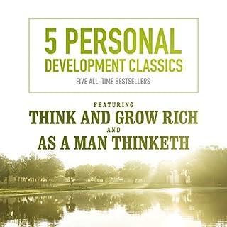5 Personal Development Classics audiobook cover art