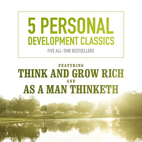 5 Personal Development Classics audiobook cover art