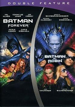 Batman Forever/Batman & Robin  DBFE   DVD