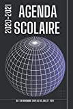 Agenda Scolaire 2020-2021: Agenda Scolaire format A5 du 1er novembre 2020 ao 06 juillet 2021.