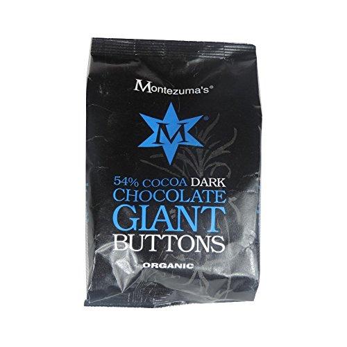 Montezumas Chocolate Organic Giant Buttons Bags (Dark Buttons) (1 x 180g)