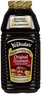 Mr. Yoshida's Original Gourmet Sweet and Savory Marinade and Cooking Sauce, 86 oz (Pack of 3)