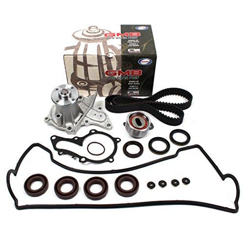 New TCK235WPVC (121 Teeth) Timing Belt Seal Kit, Water Pump Set, & Valve Cover Gasket Set (Spark Plug Seals Grommets) for 93-97 Toyota Celica Corolla & GEO Prizm 1.8L DOHC Engine 7AFE