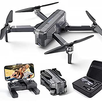 Ruko F11 Foldable GPS Drones with 4K Camera for Adults Quadcopter with 30Mins Flight Time Brushless Motor 5G FPV Transmission Follow Me Auto Return Home Long Control Range Drone for Beginners