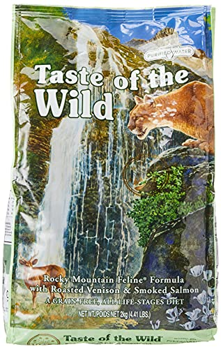 Taste Of The Wild pienso para gatos con Venado asado y Salmon ahumado 2kg Rocky Mountain