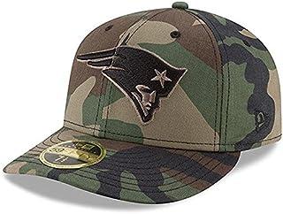 New Era New Era New England Patriots Woodland Camo Low Profile 59FIFTY Fitted Hat スポーツ用品 【並行輸入品】