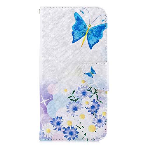 Funda para iPhone 12 de 6,1 pulgadas, iPhone 12 de 6,1 pulgadas, funda con tarjetero, soporte magnético de piel de poliuretano termoplástico