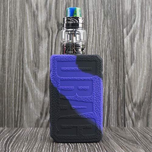 CEOKS for Voopoo Drag 2 177W Silicone Case, Anti-Slip Protective Silicone Case Skin Rubber Cover for Voopoo Drag 2 177W TC Mod Box Rubber case wrap Shield (Purple/Black)