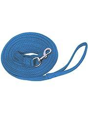 Reitsport Amesbichler Waldhausen Softlonge - Cuerda de arrastre (8 m, aprox. 8 m), color azul