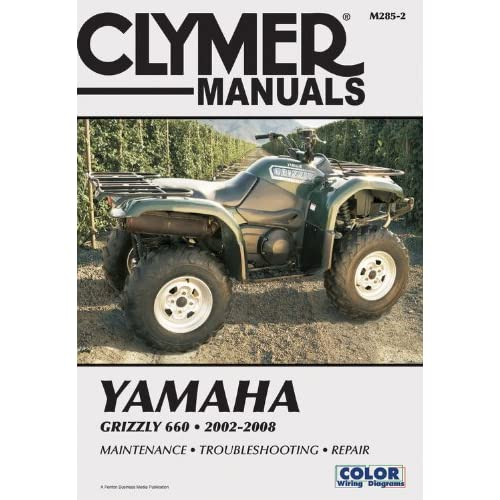 yamaha atv yfm 660 grizzly 2000 2006 service repair manual download