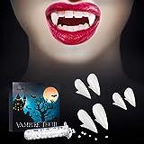 Best Vampire Fangs - SOOFUN Vampire Fangs Teeth With Adhesive for Halloween Review