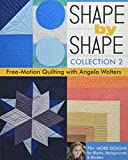 Shape by Shape, Collection 2: Free-Motion Quilting with Angela Walters • 70+ More Designs for Blocks, Backgrounds & Borders